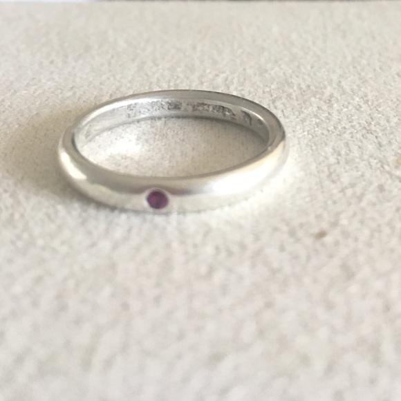 e301b3a05 Tiffany &Co Elsa Peretti stackable band ring. M_5b329736de6f624d60b8b9a7